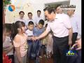 """王荣平与少年儿童共庆""""六一"""" 用爱心呵护孩子健康快乐成长"""