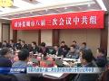 出席市政协八届三次会议的委员进行分组讨论和审议