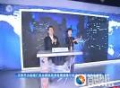王荣平为盐城广电全媒体高清直播演播厅的正式使用启动合成键
