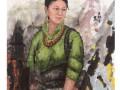 """""""心象写意""""中国画来盐巡展  市民有眼福一睹大师级作品了"""