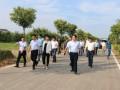 省委驻滨帮扶工作队、滨海县和溧阳市 共同开展企村对接活动