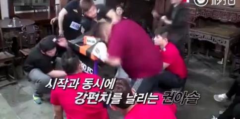 韩真人秀节目中国人遭恶意殴打