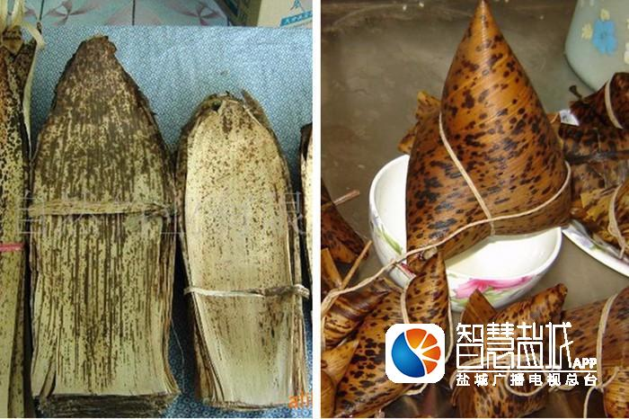 笋壳包粽子步骤图
