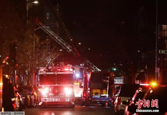 纽约市市长新闻秘书菲利普斯此前称,目前最终的死伤人数仍不确定。
