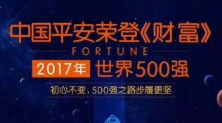 中国平安首次进入世界500强前40强 位列39