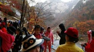 朝韩纪念金刚山旅游启动20周年