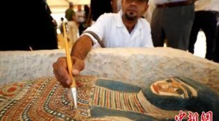 埃及弯曲金字塔内部墓室向游客开放 已有4500年历史
