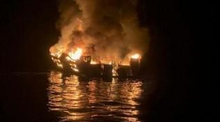 美国加州游船失火事故已确认20人死亡,仍有14人失踪