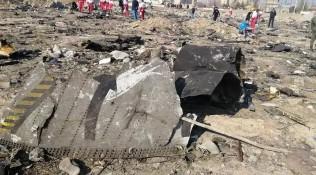 烏航客機墜落是被導彈擊中?伊朗擺證據:不可能