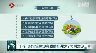 江苏出台实施意见高质量推进数字乡村建设