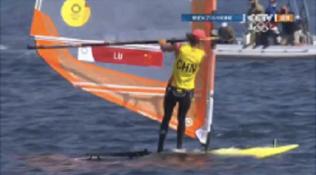 卢云秀夺得帆船女子帆板RS:X级金牌!