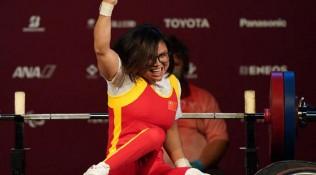 举重再添一金!胡丹丹举重女子50公斤级夺金