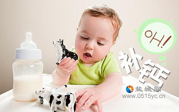 孩子缺钙的症状时