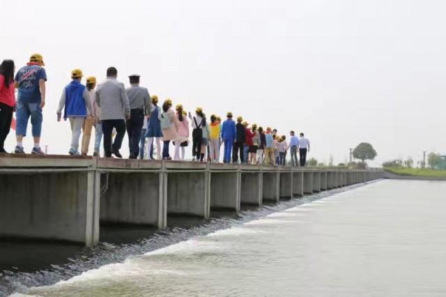 """回顾点赞""""一桶水"""":""""世界水日"""",向盐城新水源地及引水工程致敬"""