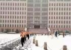 公安大学学生雪中训练 网友惊叹:竟然有妹子