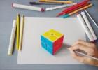 印度艺术家创作超逼真3D立体画