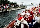 圣诞老人开会啦!第59届世界圣诞老人大会在丹麦举行