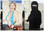 澳街头艺术家绘制希拉里泳装漫画遭封号