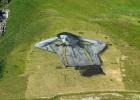法艺术家创作世界最大可生物降解画作