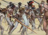 印尼举行巴列姆山谷节 猛男重现部落战争