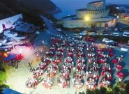东海开渔第一网抵岸 千人品尝海鲜宴