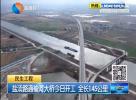 盐渎路通榆河大桥今日开工 全长1.45公里