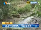 河道水荒夏插难 村民急盼灌溉